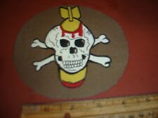 WWII USN VB-10 USS ENTERPRISE DIVE BOMBERS  FLIGHT JACKET  PATCH