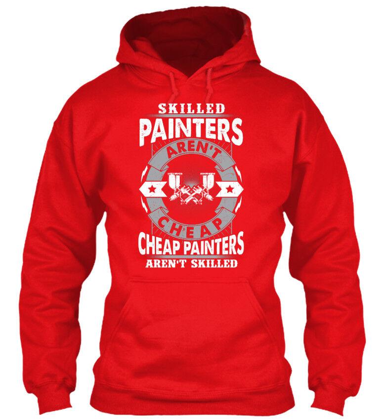 Painters Skilled - Aren't Cheap Cheap Cheap Standard College Hoodie | Verpackungsvielfalt  | Moderne und elegante Mode  | Moderater Preis  | Kompletter Spezifikationsbereich  | Erschwinglich  639178