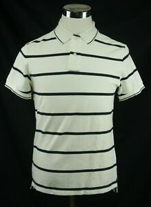 New Peter Storm Men's Short Sleeve Casual Striped Polo Shirt