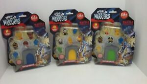 World-of-Warriors-Battle-Temple-8-Figure-Pack-w-Mystery-Warriors-x3