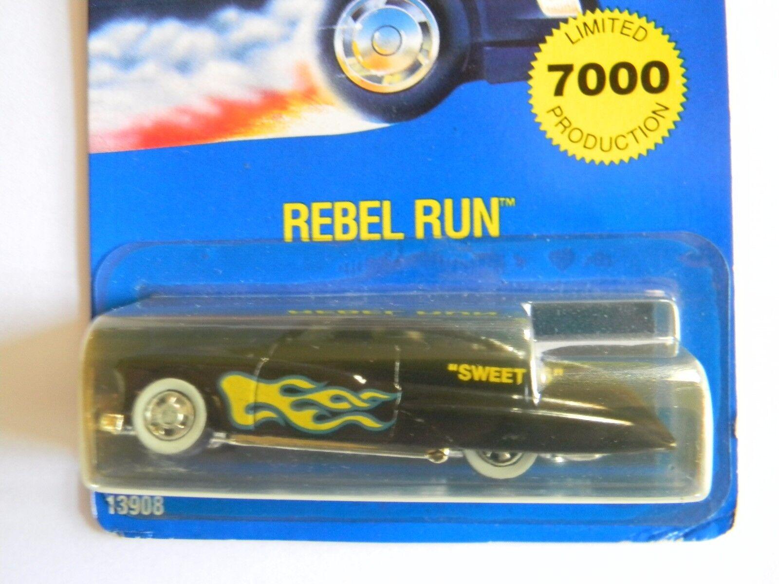 Tu satisfacción es nuestro objetivo Raro-rebelde Run-Dulce 16-Tarjeta Azul-hot Wheels-Original-Muy Wheels-Original-Muy Wheels-Original-Muy difícil de encontrar-Edición Limitada.  en stock