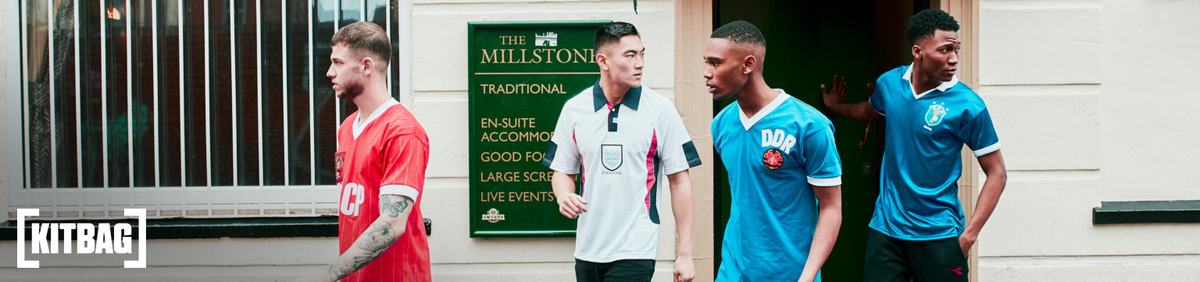 Shop event Retro Football Shirts from £30 Shop the range from Kitbag store