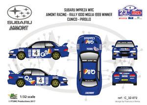 FFSMC-Productions-Decals-1-32-Subaru-Impreza-WRC-Aimont-1000-Miglia-99-Winner