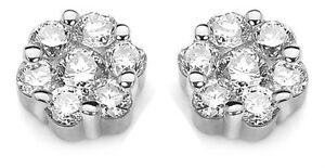 9Carat-White-Gold-Diamond-Daisy-Cluster-Earrings-0-25cts-GSI-diamond-Hallmarked