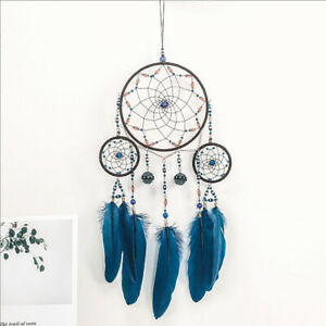 Handmade-Feather-Dreamcatcher-Wind-Chimes-Car-Home-Hang-Ornament-Decor-S8