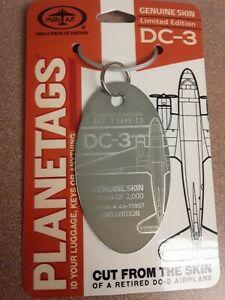 Douglas-C-47-DC-3-Planetags-Plane-Tag-Free-Shipping