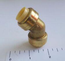 """Lead Free Reduced Push Fit Elbow 1/"""" X 3//4/"""" Fitting w//10yrs warranty 114-04"""