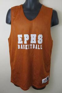 Obligeant Réversible Ephs Basket Athlétisme Débardeur Rétro Maille Sports Jersey Mens Medium M-afficher Le Titre D'origine