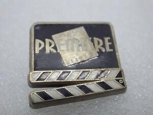 Anstecknadel Vintage Sammler Werbung Filmklappe Kino Premiere Paket Q154