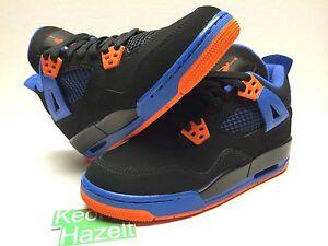 online store ce98d cfa1b Image is loading Nike-Air-Jordan-4-IV-Retro-GS-Cavs-