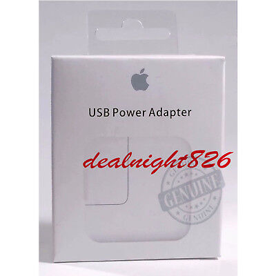 Apple iPad Charger Original Genuine 12W USB Power Adapter Wall Air Mini 2 3 OEM