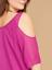 Lane-Bryant-Chiffon-Cold-Shoulder-Tunic-Plus-Size-14-16-18-20-22-24-26-28-NEW thumbnail 4