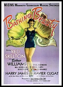 Bathing Beauty Movie Posters Musicals Vintage & Classic ...