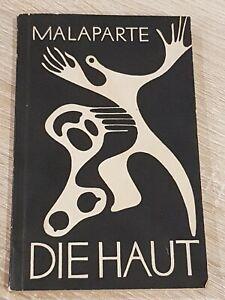 Die-Haut-Curzio-Malaparte-Roman-Buch-Deutsch-Antiquar-1950-Selten-Wie-NEU