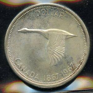 1967-Canada-Silver-Dollar-ICCS-MS-64-Cert-XVZ-973