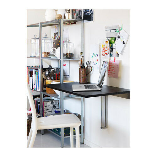 Ikea Wandklapptisch ikea bjursta wandklapptisch brown black 90x50cm wall side table ebay