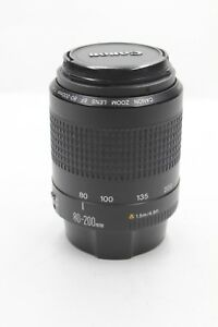 #L46 Canon Zoom lens EF 80-200 mm II f4.5-5.6 for Canon film or digital EOS