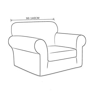 Details about Couch Cover Stretch Arm Chair Large Sofa Slipcover Furniture  Protector from Pet