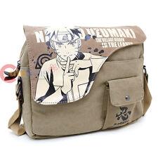 Naruto Uzumaki Canvas Messenger Bag Body Cross Bag Canvas Anime Cosplay Bag