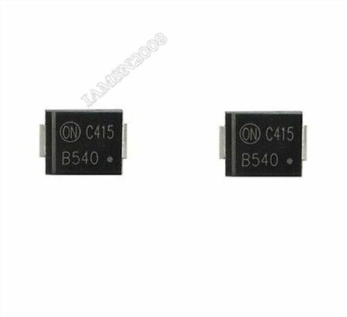 10Pcs MBRS540T3G Schottky-Diode Auf Halbleiter 40V 5A Smd bu