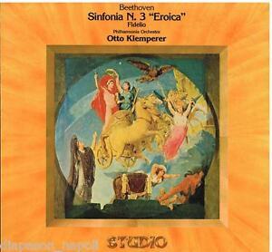 Beethoven-Symphonie-Symphonie-N-3-Eroica-Fidelio-Klemperer-LP-Emi-NM-Ex