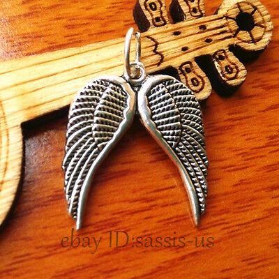 100pcs 18mm Charms leaf pendant Diy Jewelry Tibet Silver Making necklace A7216