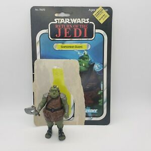 Vintage-1983-Star-Wars-Gamorrean-Guard-Action-Figure-Complete-Axe-and-Cardback