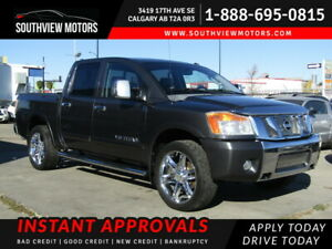 2008 Nissan Titan 4WD Crew Cab SWB LE SUPERCHARGED LEATHER SUNROOF