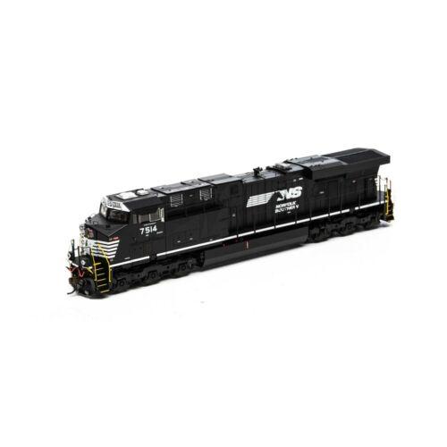 ATHEARN GENESIS G83141 HO NORFOLK SOUTHERN ES40DC DC,TSUNAMI2 DCC /& SND RD#7540