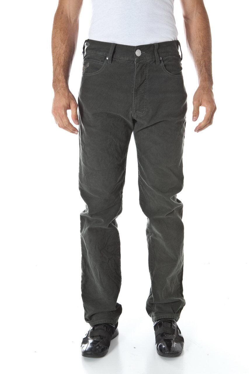 Pantaloni Armani Jeans AJ Jeans Trouser Cotone men green U6J31PC 6D