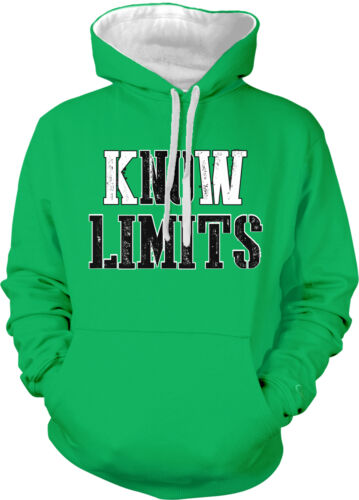 Know Limits No Limits Exercise Breakthroughs Lifting 2-tone Hoodie Pullover