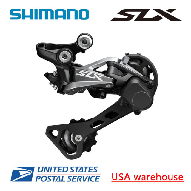 Shimano XT RD-M786-SGS 10-Speed Long Cage Shadow Plus Rear Derailleur Black