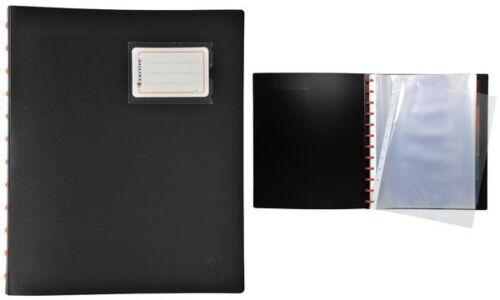 EXACOMPTA Sichtbuch EXACTIVE DIN A4 schwarz 30 Hüllen
