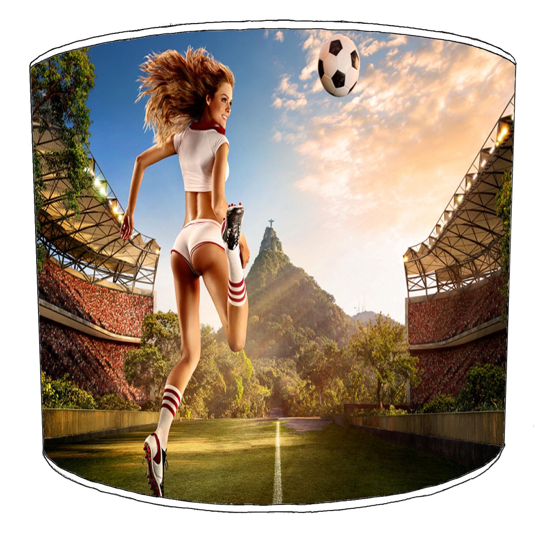 Adulti Sexy Donna Football Designs paralumi Man Man Man Grossota, Pin Up Ragazze Lightshades   Ha una lunga reputazione    I più venduti in tutto il mondo    Costi medi    una vasta gamma di prodotti    Qualità Affidabile    I Materiali Superiori    Bella E a7b366