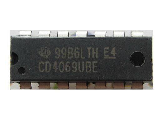 5PCS HEF4069/HCF4069/CD4069BE DIP-14 HEF4069 4069 Hex inverter IC