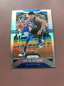2019-20-Panini-Prizm-Basketball-Justin-Jackson-SILVER
