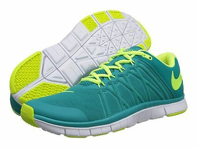 promo code 57904 48a2f Men Nike Free Trainer 3.0 630856 371 Green Yellow White 100% Authentic  Brand New