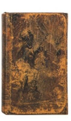 Angels New Distressed Book Box Hidden Jewelry Secret Fake Faux Vintage