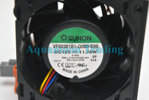 H0H89 OEM Dell PowerEdge R730 R730XD Server Cooling Fan CW51C KH0P6 VF60381B1