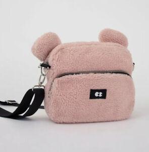 Lazy Oaf Pink Teddy Bear Bag Ebay