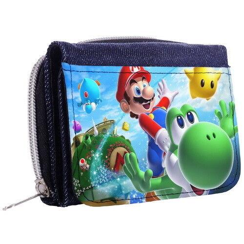 Super Mario Bros Yoshi Geldbörse Dreifach Faltbare Portemonnaie p8/_01 w2090