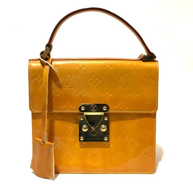 AUTHENTIC LOUIS VUITTON Monogram Vernis Spring Street Hand Bag M91068