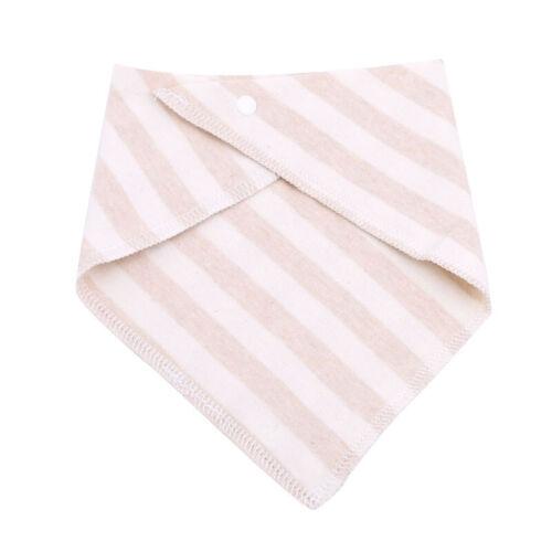 New Baby Feeding Head Scarf Towel Bib Saliva Triangle Dribble+Teething LH