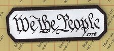 WE THE PEOPLE TACTICAL PATCHES USA ARMY 1776 MORALE BADGE SWAT History PATCH