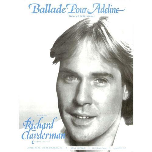 Noten für Klavier Ballade pour Adeline Richard Clayderman
