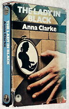 1977~1st~THE LADY IN BLACK~Anna Clarke~CRIME~VICTORIAN MURDER MYSTERY~HB/DJ