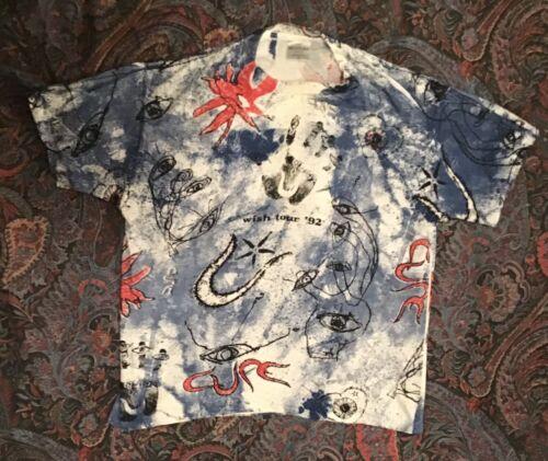 Vintage The Cure 1992 Wish Original Tour T-shirt X