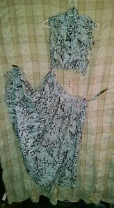 Vintage-50-039-s-Gray-Gibson-Jr-Dress-Not-in-wearable-condition-from-mending-box
