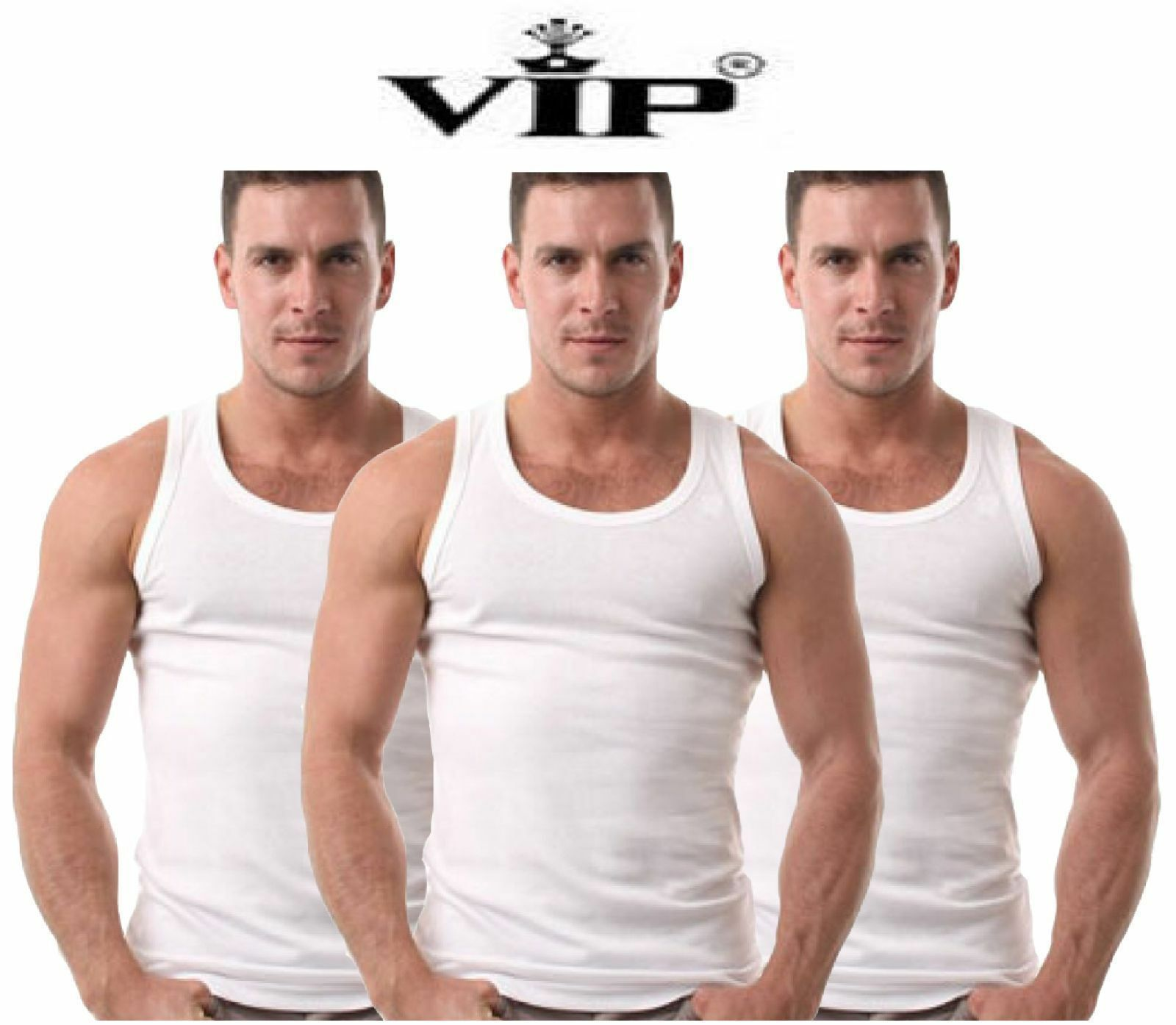 12 X VIP BONUS PREMIUM Men's Vest small  medium  large FREE SHIP