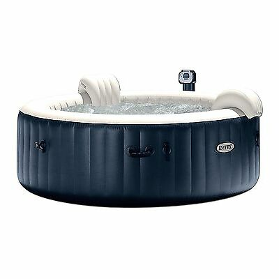 Intex Pure Spa 6 Person Inflatable Portable Outdoor Bubble Jets Hot Tub 28409E